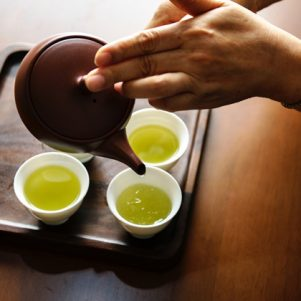 Thé vert: un allié de la santé buccale